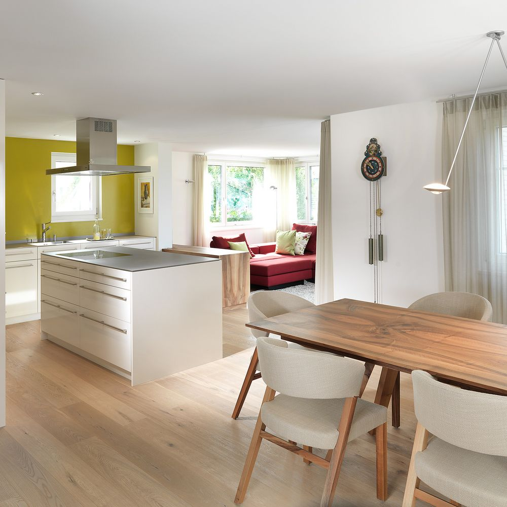 innenarchitektur einfamilienhaus. Black Bedroom Furniture Sets. Home Design Ideas