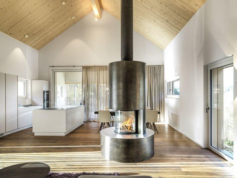 innenarchitektur einfamilienhaus kche wohnzimmer - Reizvoll Wohnzimmer Design Vorstellung