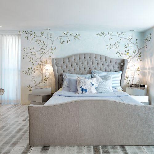 Individuelles Schlafzimmer Bett