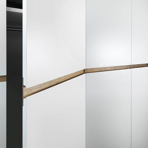 Innenarchitektur Detail Schrank Holz