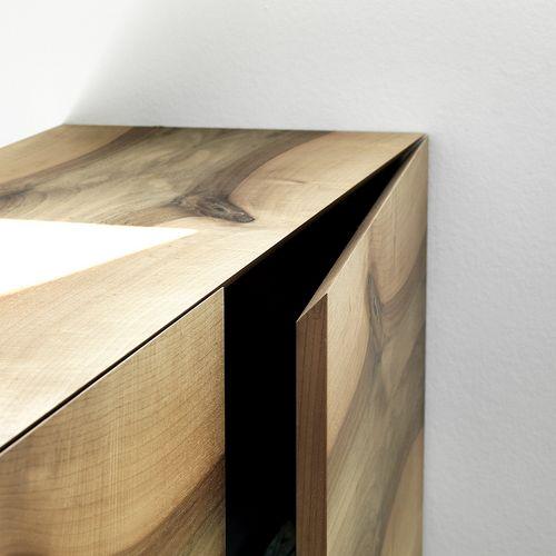 Innenarchitektur Wohnräume Detail Sideboard Holz