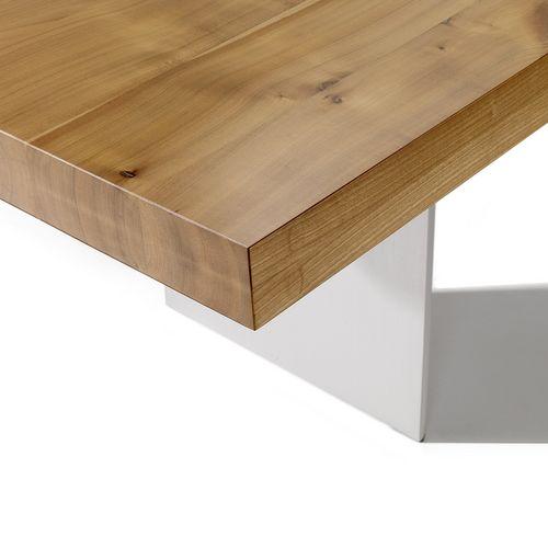 Möbel Tisch Holz massiv eckig Emil
