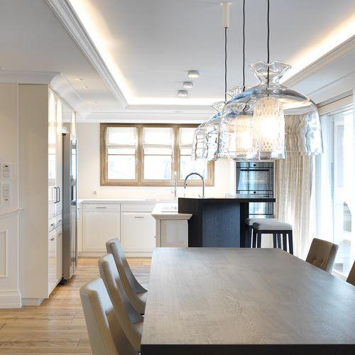 Innenarchitektur Esszimmer Wohnung im Appenzellerland