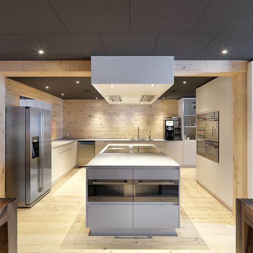 Eventküche Kochinsel Innenarchitektur