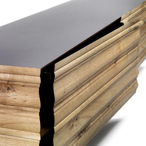 Möbel Holz Sideboard George rechteckig