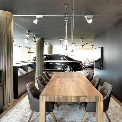 Innenarchitektur Showroom Möbel