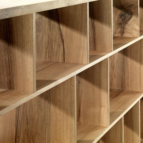 Möbel Regal Holz rechteckig Pius