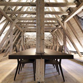 Innenarchitektur Arbeitszimmer Holz