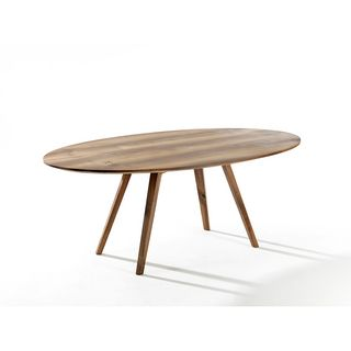 Möbel Tisch Holz oval Xavier