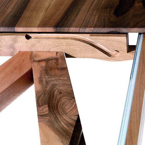 Möbel Tisch Holz eckig Auszugsmechanik Xerxes