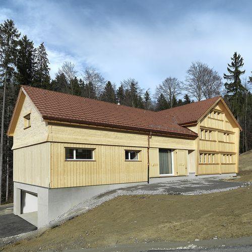 Innenarchitektur Aussenansicht Fassade
