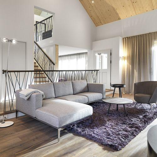 Innenarchitektur Einfamilienhaus Herisau Sitzecke