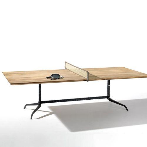 Möbeldesign Tisch Holz Pingpong Tennis Roger