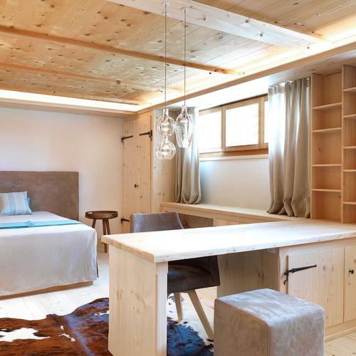 Gästeraum mit Lounge