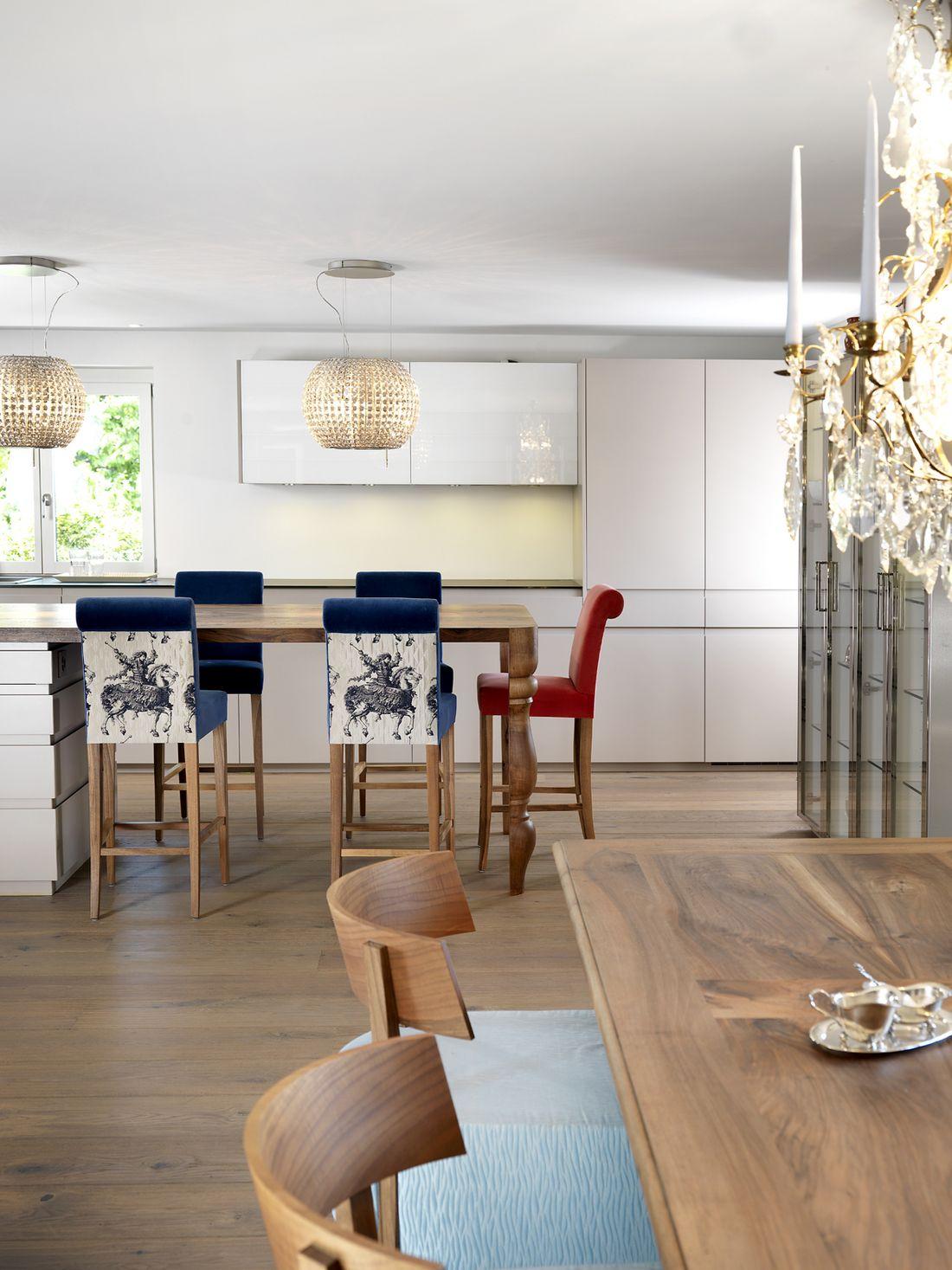 Einfamilienhaus Altnau : Wohnräume. : Innenarchitektur. : Thomas ...