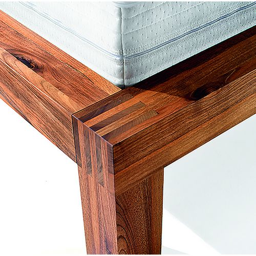 Möbel Bett Holz Ladina