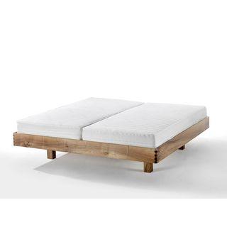 Möbel Bett Holz Samuel