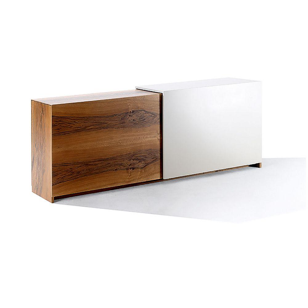 Möbel Holz Sideboard David eckig