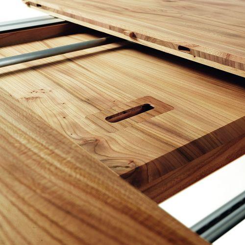 Möbel Tisch Holz oval Elin