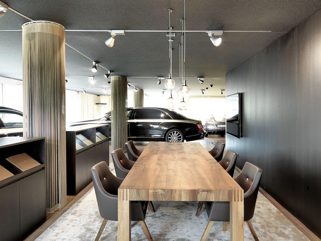 maybach-haus appenzell : Arbeitsräume. : Innenarchitektur. : Thomas ...