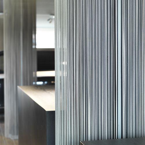 Innenarchitektur Detailansicht Vorhang
