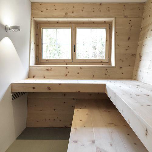 Innenarchitektur Sauna